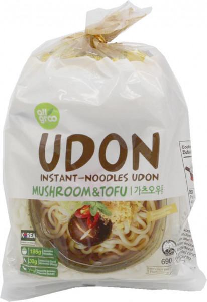 All Groo Udon Shiitake und Tofu, 690 g