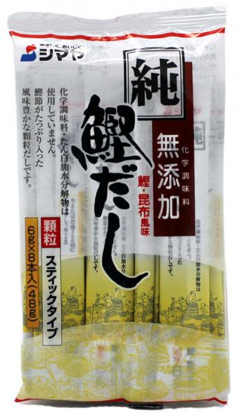 SHIMAYA Würzpulver für Suppen (Dashi no moto), 8x 6 g