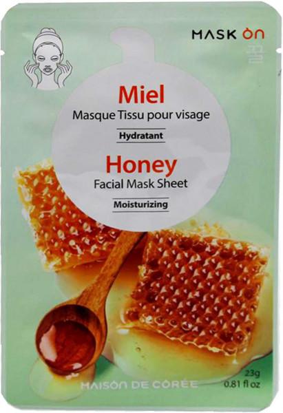 Feuchtigkeitsspendende Gesichtsmaske mit Honig