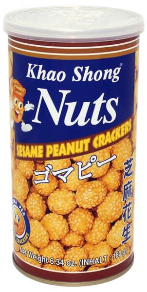 Khao Shong Erdnüsse mit Teig und Sesam ummantelt, 180 g