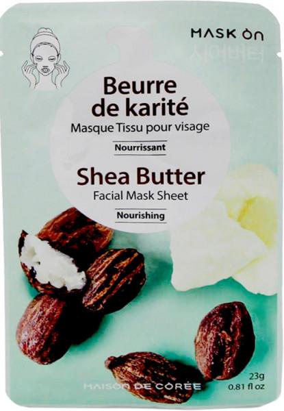 Kräftigende Gesichtsmaske mit Sheabutter