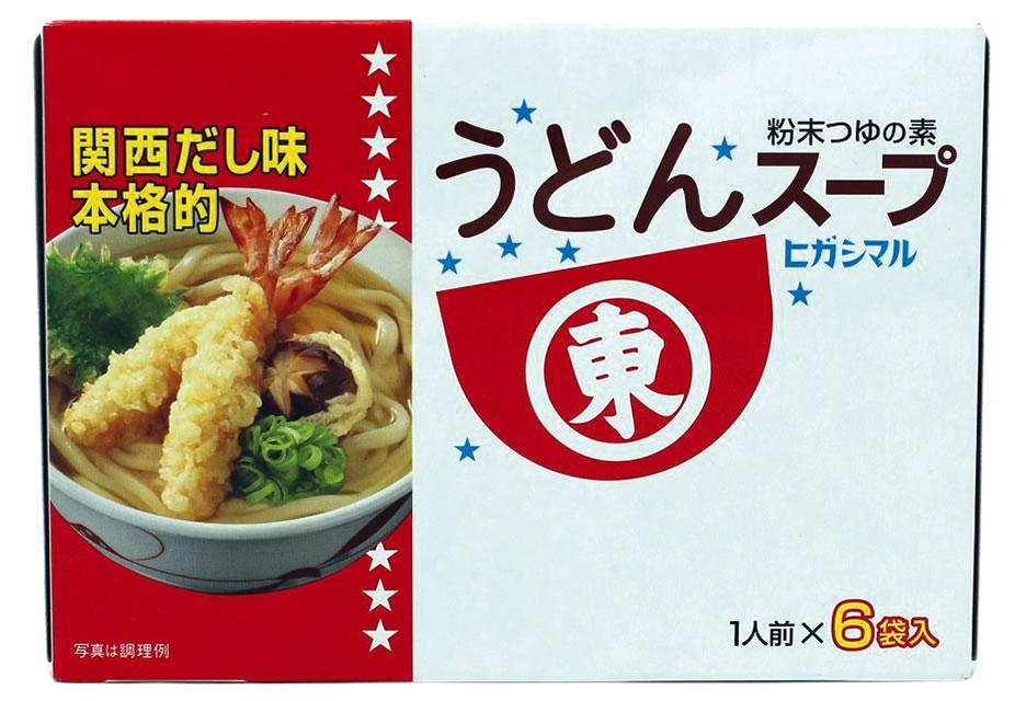 Higashimaru Udon Suppenpulver, 6x 8 g