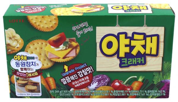 Gemüse-Cracker, 249 g