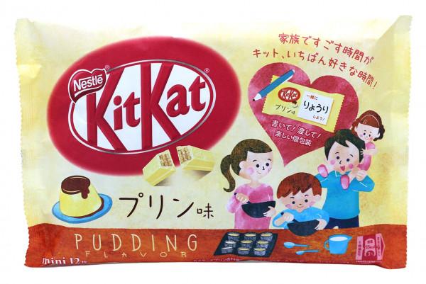 Nestle KitKat Pudding-Geschmack Mini, 12x 9,9 g