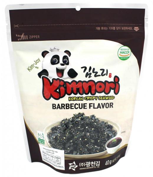 Kimnori Knusper-Seetang mit Grillgewürz und Öl, 40 g