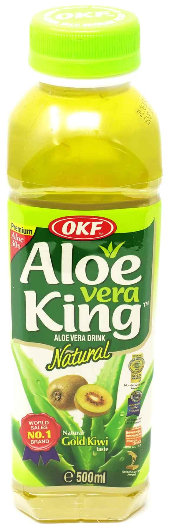 OKF Aloe Vera King Kiwi Getränk, 500 ml