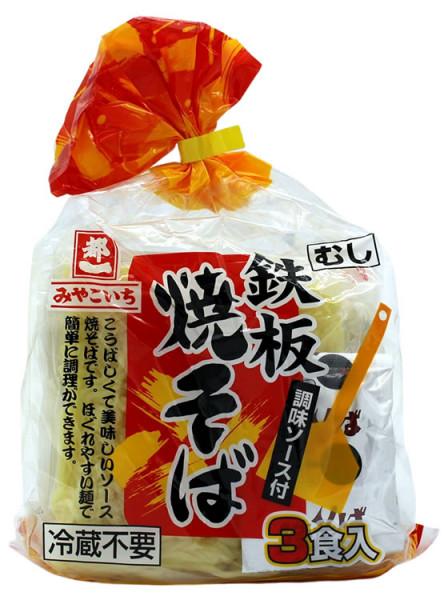 Gekochte japanische Nudeln Teppan Yakisoba, 480 g