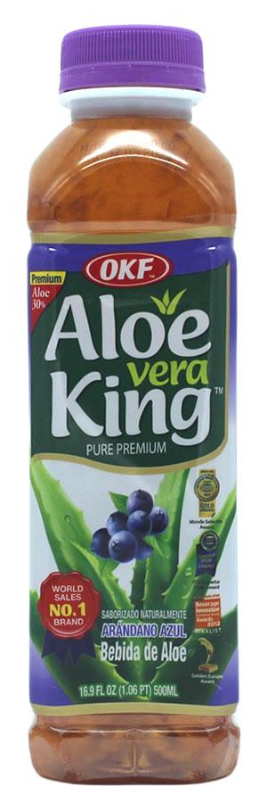 OKF Aloe Vera Getränk Blaubeer, 500 ml