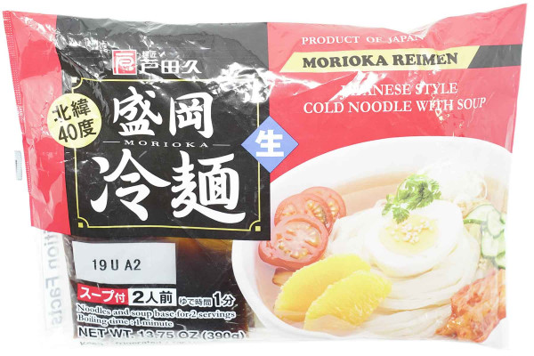 TADAKYU japanische Morioka Nudeln mit Suppe, 390 g