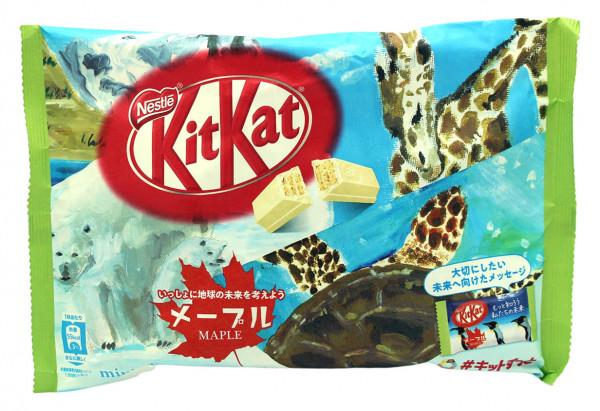 Nestle KitKat Maple Mini, 12x 9,9 g