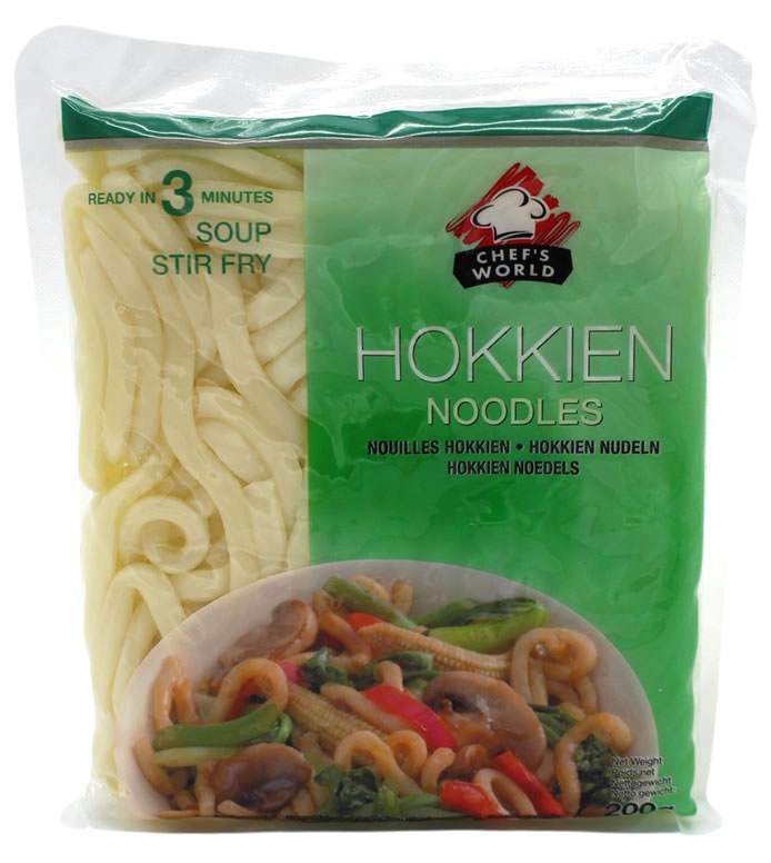 Chef´S World Hokkien Nudeln, 200 g