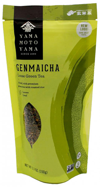 Yamamotoyama grüner Genmaicha-Tee, 150 g