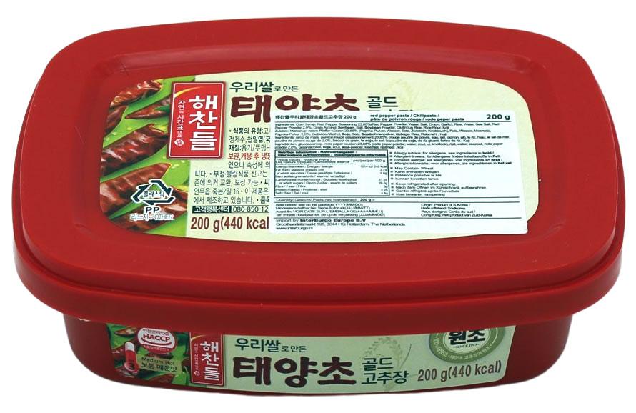 CJ Gochujang rote Chilipaste scharf, 200 g