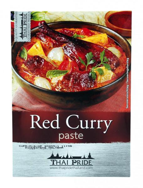 Thai Pride Rote Currypaste mittlere Schärfe, 50 g