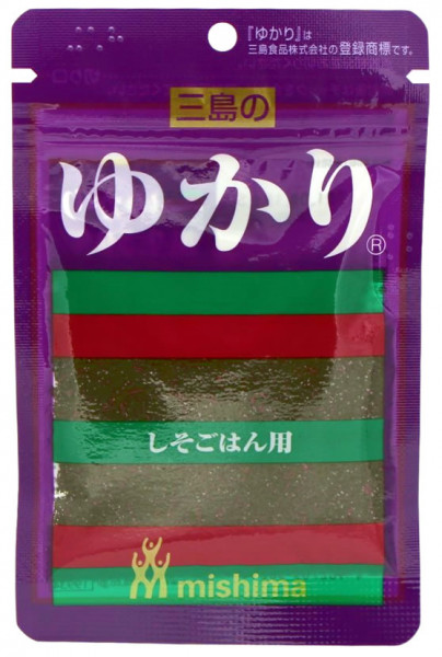 Japanisches Reisgewürz Yukari, 26 g