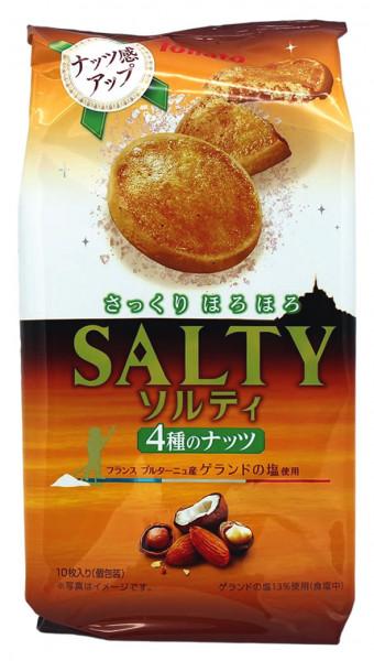 Tohato Kekse gesalzen mit Nuss, 85 g