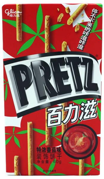 Glico PRETZ Keksstick Tomate, 60 g