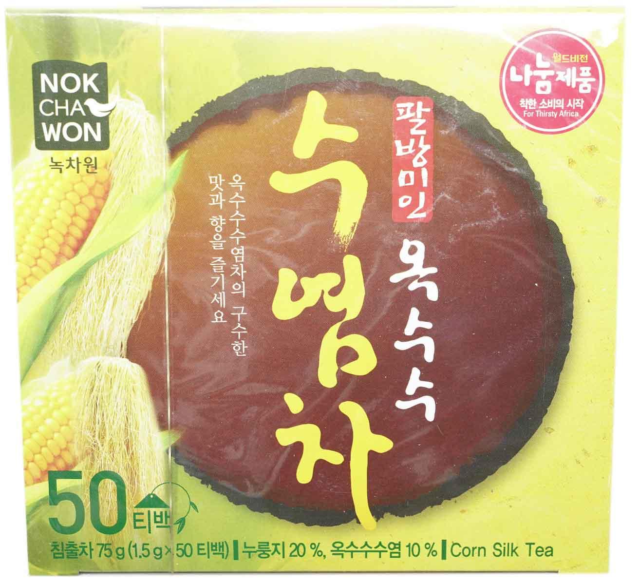 Nokchawon Maisseide-Tee, 50 Beutel je 1,5 g
