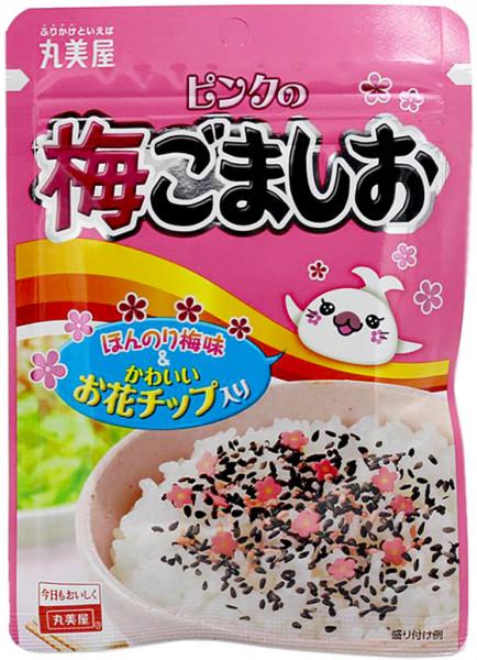 Marumiya Furikake Ume Gomashio Reisgewürz mit Sesam, Salz und Ume, 45 g