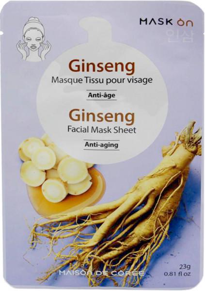 Maison de Corée erfrischende Gesichtsmaske mit Ginseng