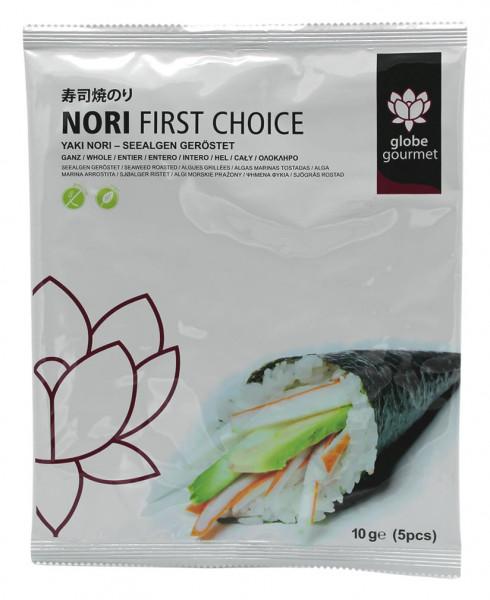 Globe Gourmet First Choice Yaki-Nori-Blätter, 10 g