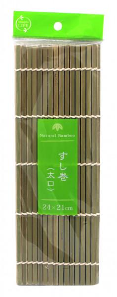 Sushimatte aus Bambus, 24 x 21 cm