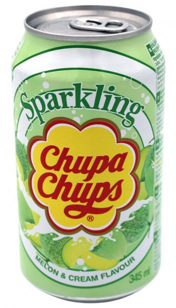 Chupa Chups Sparkling Soda Melonen-Sahne, 345 ml