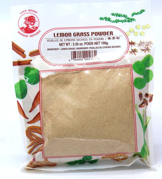 Cock Thai Zitronengraspulver, 100 g