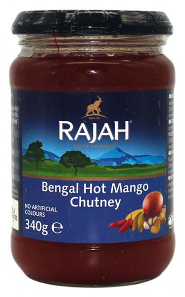 Rajah Mango Chutney scharf, 340 g