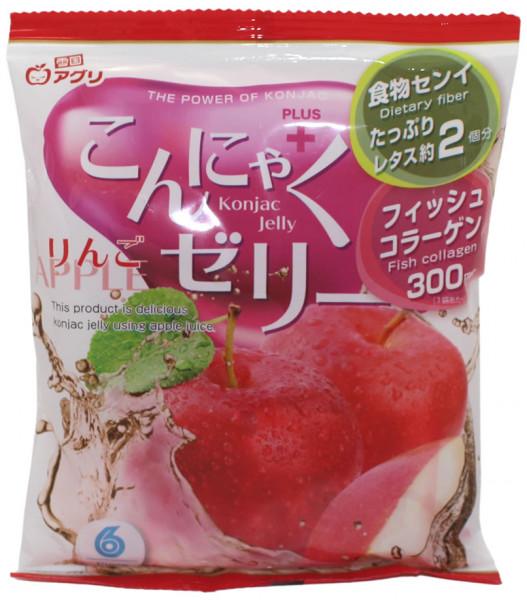 Konjac Geele Bonbon Apfel, 108 g