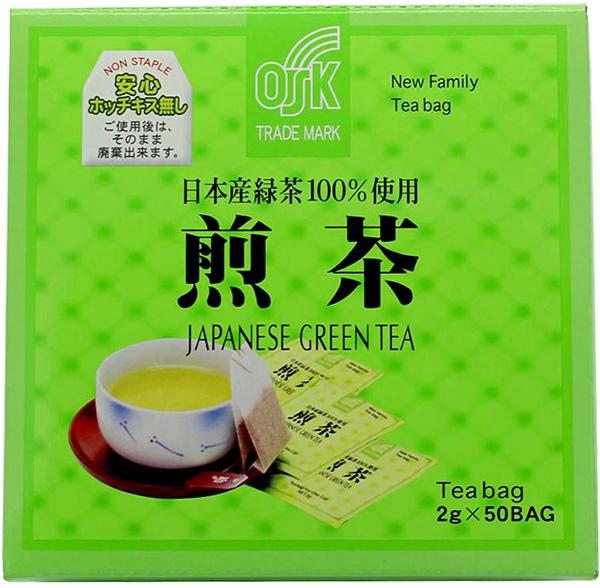 OSK Grüner Tee Sencha, 50 Teebeutel je 2 g