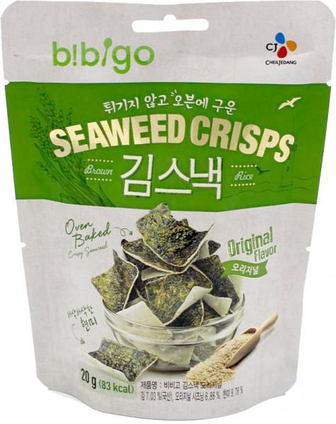 Bibigo Algen-Chips Original, 20 g