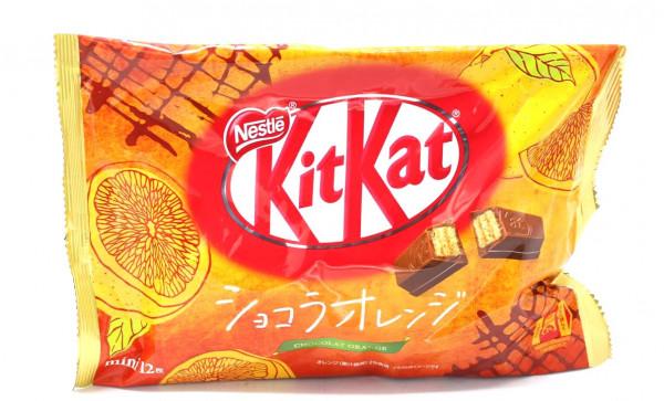 Nestle KitKat Chocolat Orange Mini, 12x 11,3 g