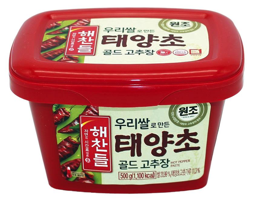 CJ Gochujang rote Chilipaste scharf, 500 g