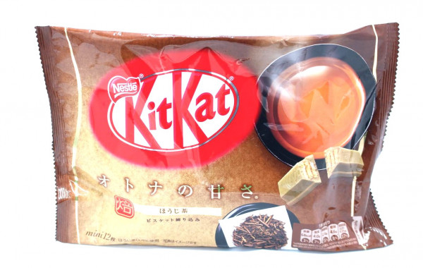 Nestle KitKat gerösteter grüner Tee Mini, 12x 11,3 g
