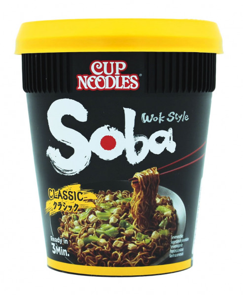 Nissin Soba Classic Cup Nudeln, 90 g
