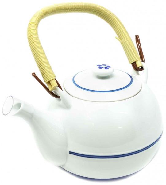 Japanische Teekanne mit Bambushenkel, 900 ml