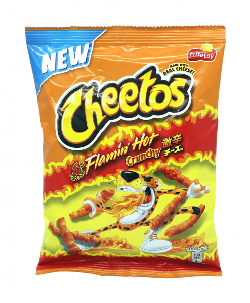 Cheetos Flamin Hot würziger Käsegeschmack, 75 g