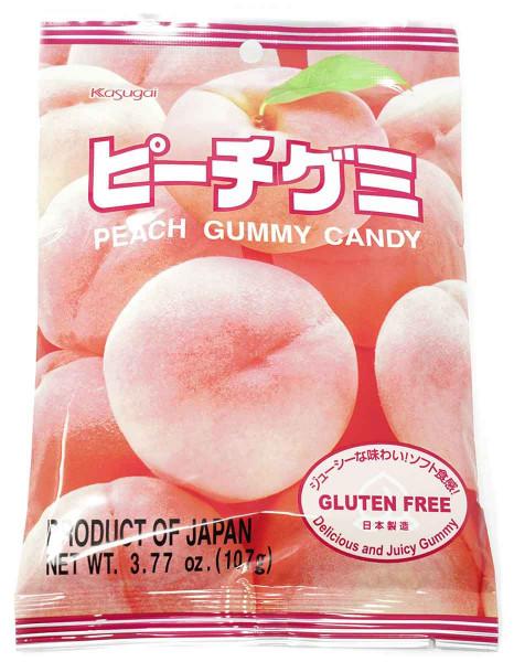 Kasugai Fruchtgummi Pfirsich, 107 g