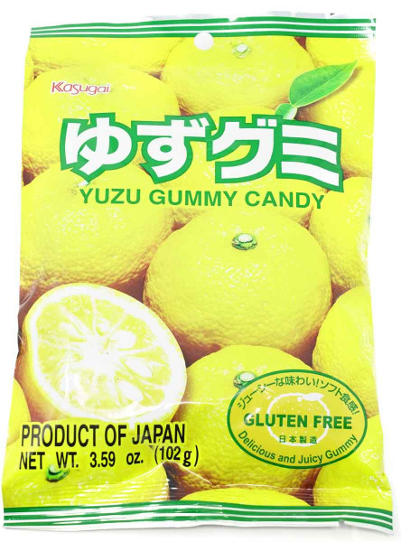 Kasugai Fruchtgummi Yuzu, 102 g