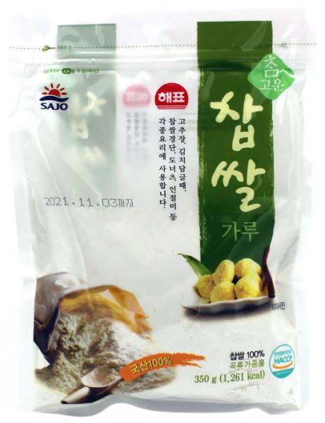 SAJO Koreanisches Klebreis-Pulver, 350 g