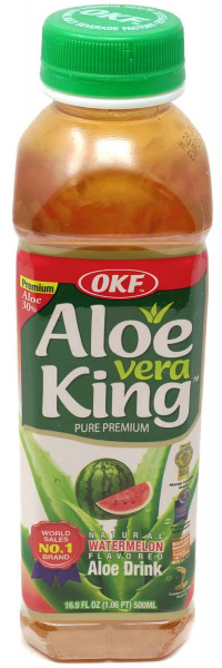 OKF Aloe Vera King Juice mit Wassermelonengeschmack, 500 ml