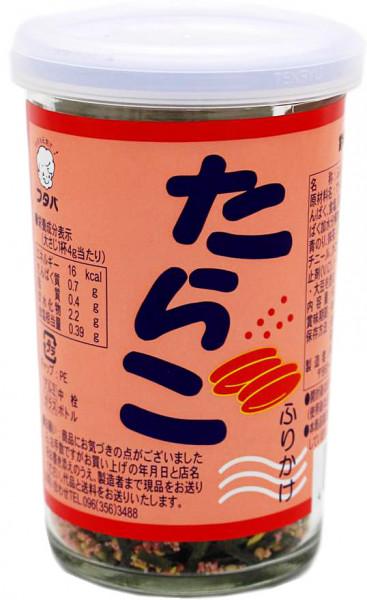 Futaba Tarako Furikake Reisgewürz mit Pollackrogen-Geschmack, 60 g