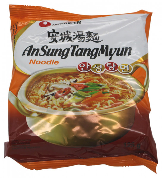 Nongshim Noodles AnSungTang Myun, 125 g