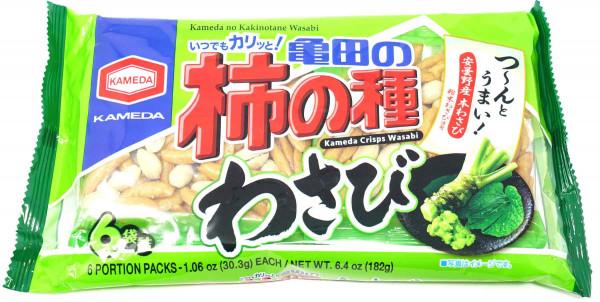 KAMEDA Kakinotane Reiscracker Wasabi, 182 g