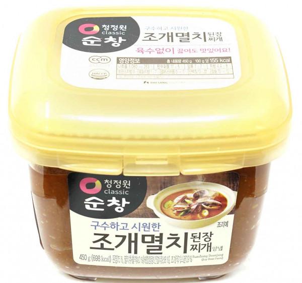 CJW Sojabohnenpaste mit Sardellengeschmack, 450 g