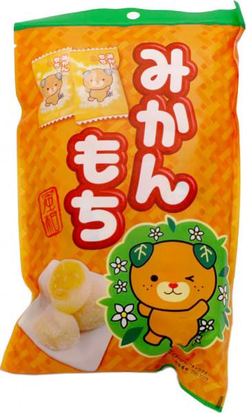 Seiki Mikan Mochi Reiskuchen mit Mandarinenfüllung, 180 g