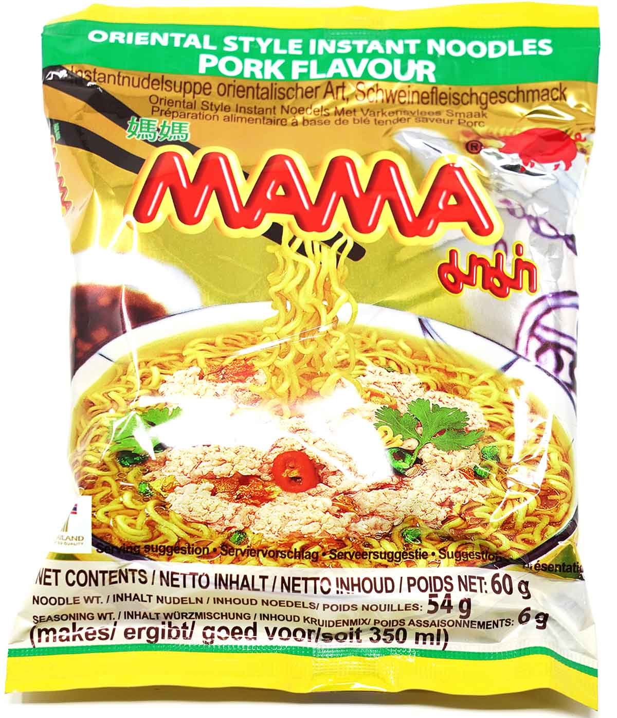 MAMA Instantnudeln Oriental Style Pork Flavour, 60 g