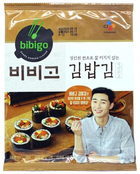Bibigo Sushi Nori, 10 Blätter