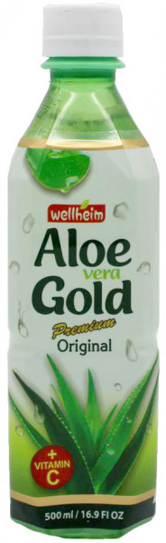 Wellheim Aloe-Vera-Drink, 500 ml